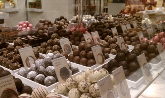 Truffels at Godiva Chocolates, Lenox Mall