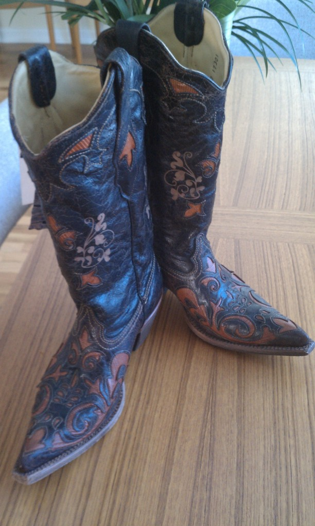 Corral Lizzard Western Boots
