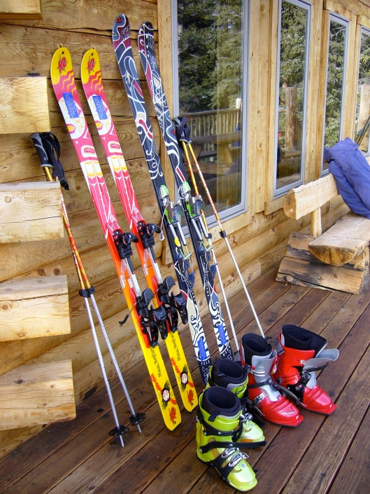 Rental skis from Sawatch Backcountry - a great shop in Leadville Co