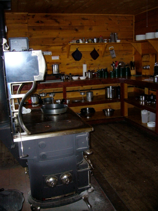 The Kitchen in Sangree's Hut, 10th Mountain Division Huts Association