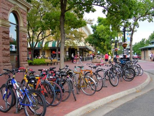 Bicycles in Boulder