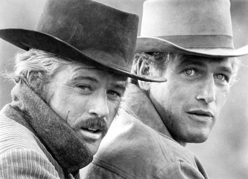 Robert Redford & Paul Newman, Butch Cassidy and The Sundance Kid
