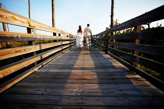 Chris and Spice Jones - wedding on Cape San Blas, Fl