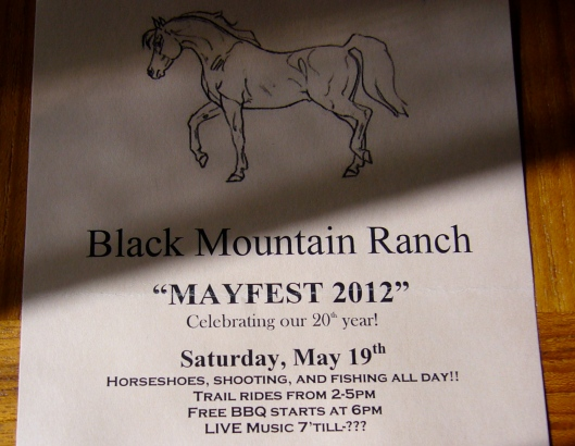 Black Mountain Ranch Mayfest 2012