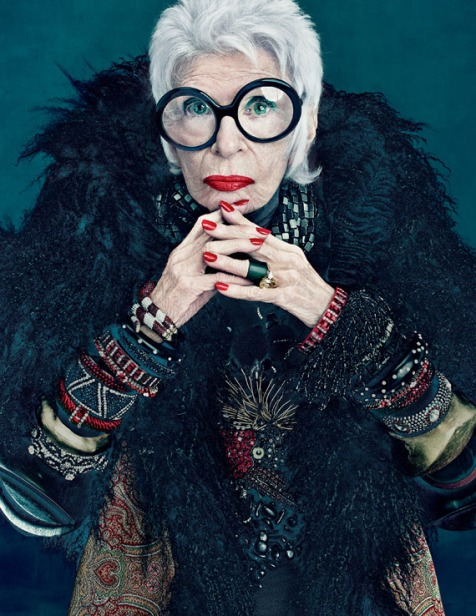 Who doesn't admire Iris Apfel?