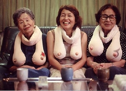 """I wish I knew more about this photo but I only ever hear it called """"Trio of Laughter"""""""