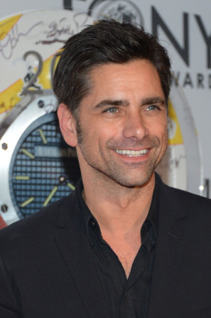 John Stamos June of 2012. And finally, how he looked when I developed the third...this week.