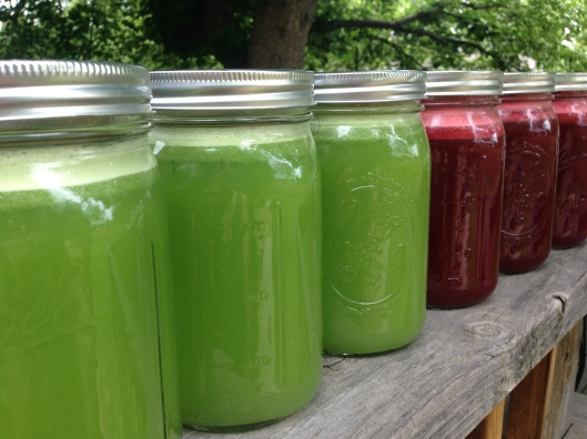 Vegetable Juice made at home